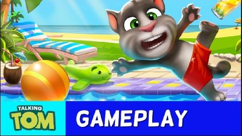 tải trò chơi my talking tom pool